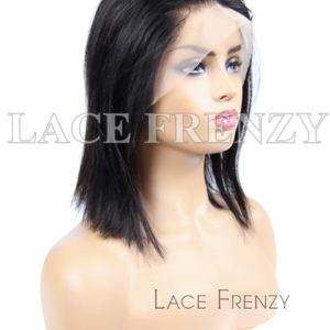 Virgin Human Hair Straight HD Transparent 13X6 Lace Front Wig