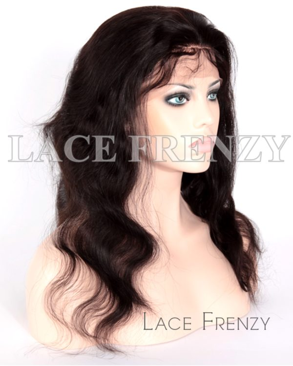 Madeline Indian Remy Hair Body Wave Silk Top Full Lace Wig