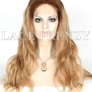 Suze 20 Inches Body Wave European Virgin Hair Silk Top Full Lace Wig
