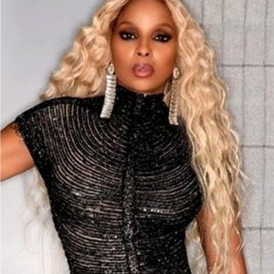 Mary J. Blige Deep Wavy Celebrity Custom Lace Wig