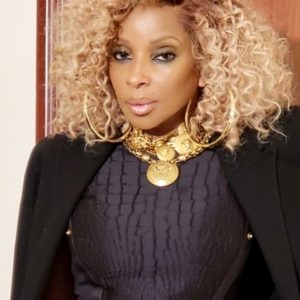 Mary J. Blige Two Toned Kinky Wave Custom Celebrity Lace Wig
